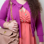 What I Wore: Wrapped in Coral