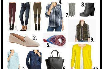 FASHION: 10 Fall Fashion Essentials