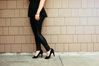 WHAT I WORE: Black on Black