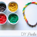 DIY: Pasta Fun for Toddlers