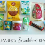 REVIEW: September's Snackbox
