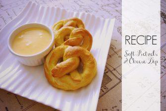RECIPE: Soft Pretzels & Cheese Dip