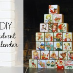 DIY: Vintage Advent Calendar