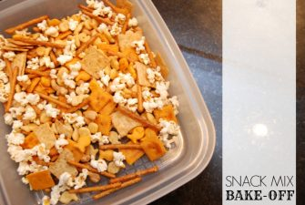 BAKE-OFF: Snack Mix