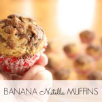 BAKING: Banana Nutella Muffins