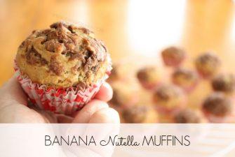 BAKING: Banana Nutella Muffins