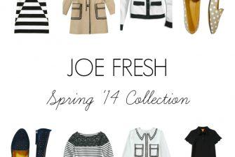 FASHION: Joe Fresh Spring '14 Collection