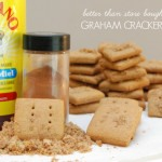 RECIPE: homemade graham crackers