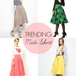 Trend Report: Midi Skirt