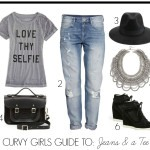 FASHION: Curvy Girls Jeans & a Tee Guide