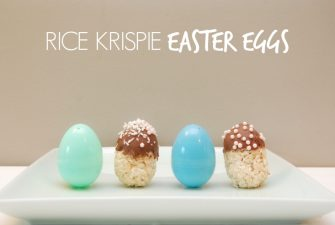 BAKE-OFF: Rice Krispie Easter Eggs