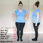 WEIGHT LOSS UPDATE :: DAY 22