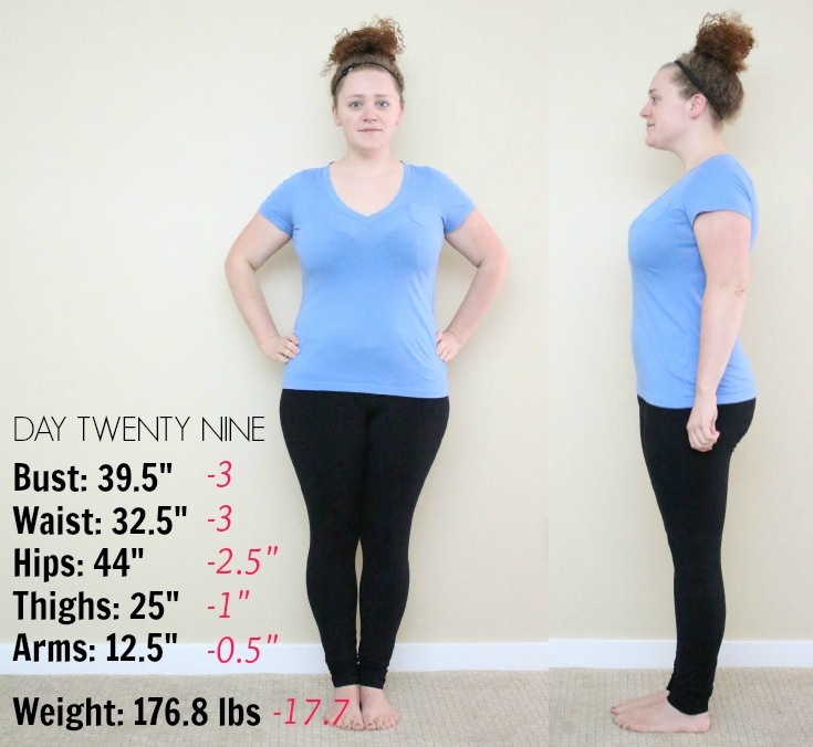 Weight Loss Update :: Day 29