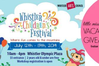 TRAVEL :: Whistler Children's Festival + GIVEAWAY
