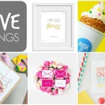 FIVE THINGS {weekly link up}