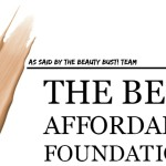 BEAUTY: Best Affordable Foundation {Part 2}