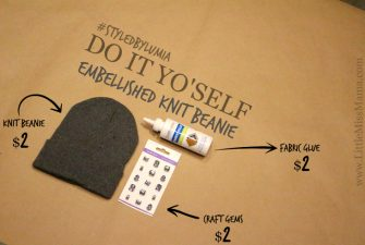 DIY: Embellished Toque