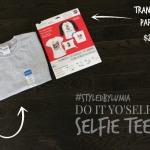 DIY: #Selfie Tee