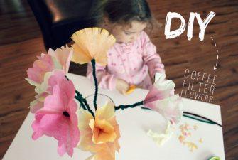 DIY: Coffee Filter Flowers