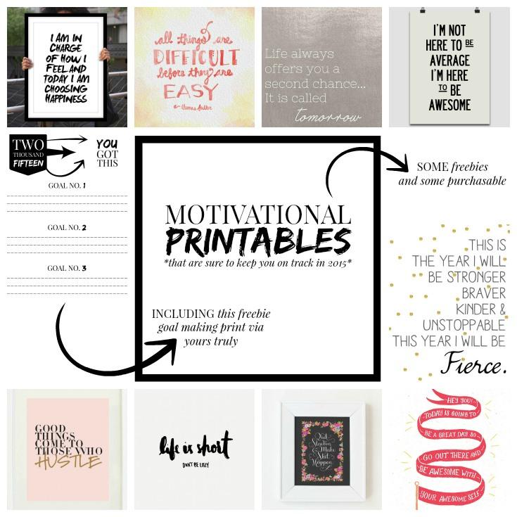 MotivationalPrintables