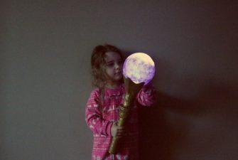 DIY: night time toddler torch