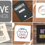 FIVE THINGS: Last-Minute Printable Valentines