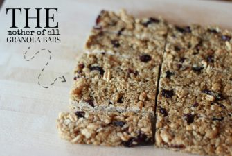 RECIPE: The Ultimate 'Chewy' Granola Bar