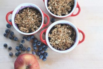 "RECIPE: ""Anything You Have"" Crumble"