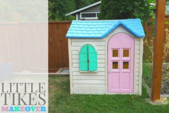 DIY: Little Tikes Home Makeover