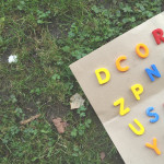 DIY Golden Alphabet Play