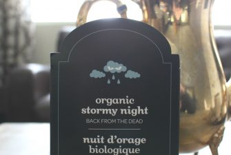 TEA: When it calls for Stormy Nights