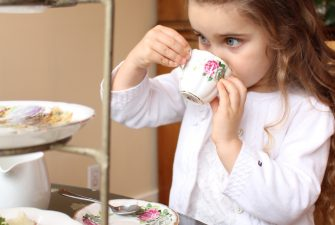 Who even takes a child to High Tea?