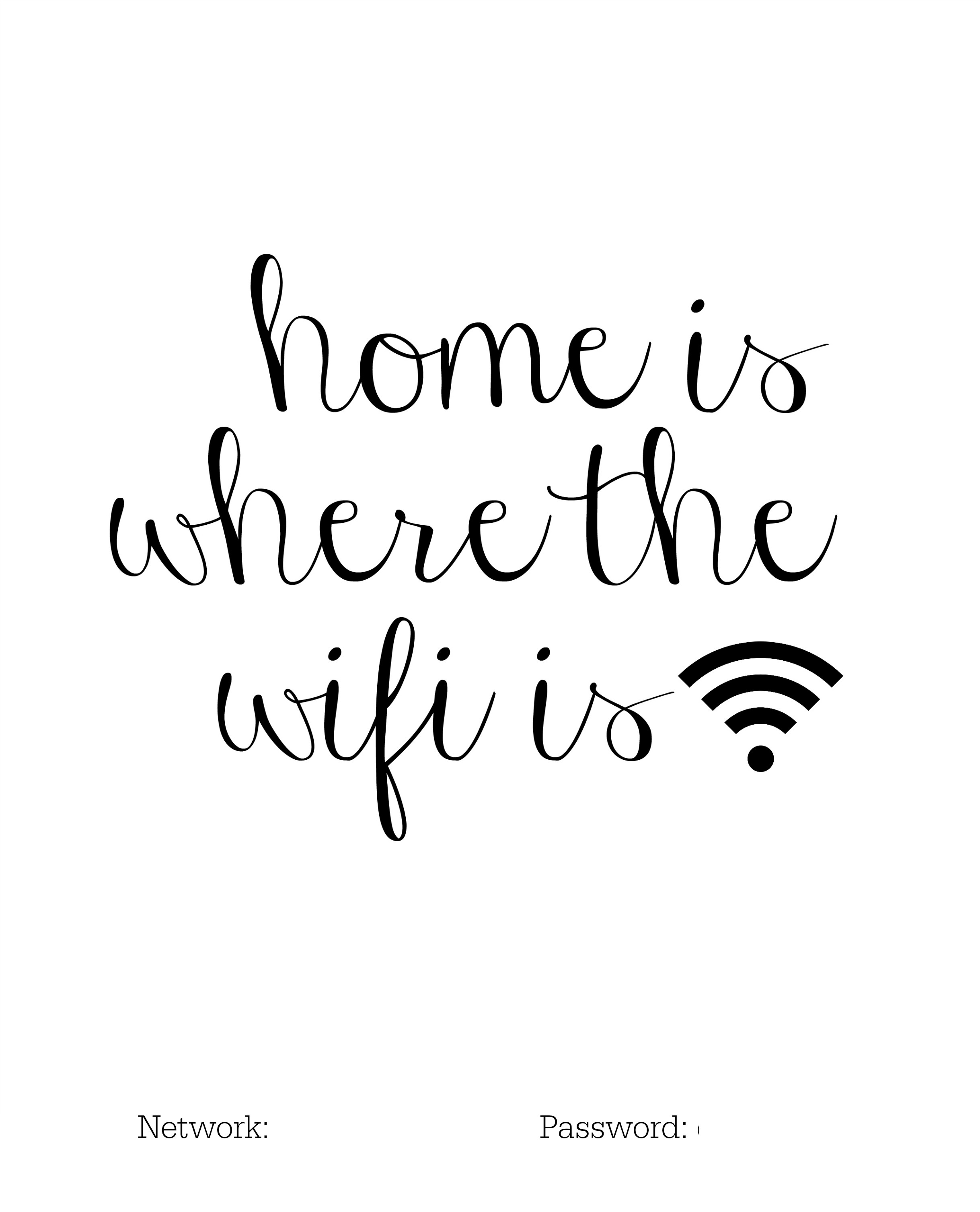 It is a picture of Exhilarating Printable Wifi Sign