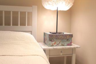 DIY: Bedside Table Overhaul {with D-C-Fix}