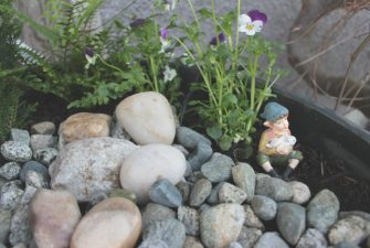 DIY: Front Door Fairy Garden