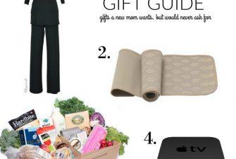 MOTHERHOOD: New Mom Gift Guide +Giveaway