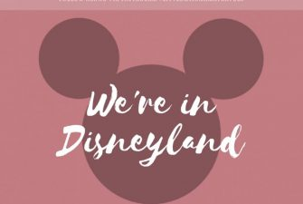 We're in Disneyland {brb}