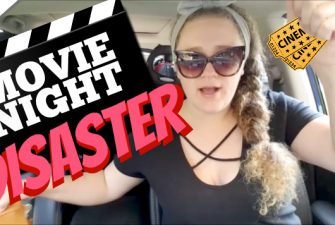 Our Annual Outdoor Movie Night {Disaster Strikes}