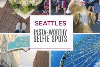 Seattle's 5 Insta-Worthy Selfie Spots