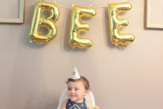 Stella's Bumble Bee Birthday {this is 1}