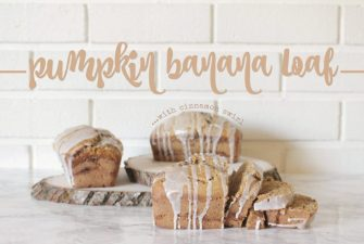 RECIPE: Pumpkin Banana Loaf