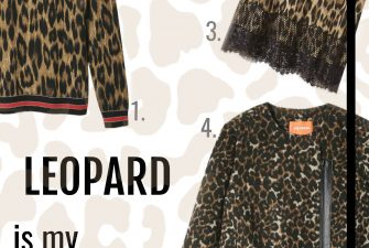 Fashion; Leopard is my favorite color {joe fresh}
