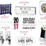2017 Gift Guide: for the Couples in Love