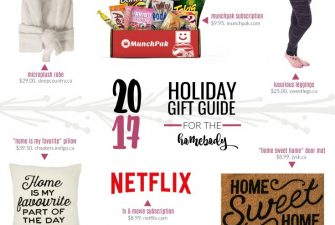 2017 Gift Guide: for the Homebody