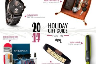 2017 Gift Guide: for the Men