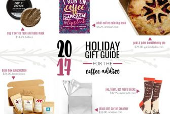 2017 Gift Guide: for the Coffee Addict