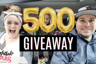 500 Subscribers YouTube GIVEAWAY