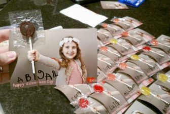 Easy DIY Kids Valentine's Day Card