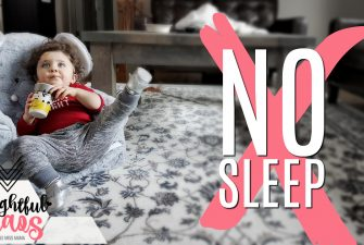How to not get your baby to sleep!