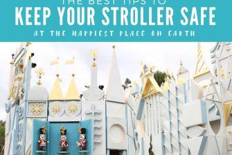 5 ways to prevent stroller theft in Disneyland